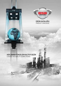 BSB Asansör Katalog İçin Tıklayınız