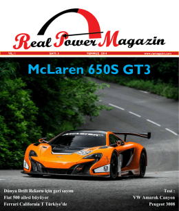 McLaren 650S GT3 - real power magazin
