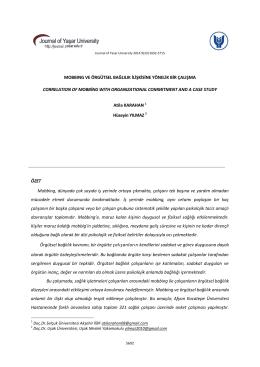 topoloji ve cebirin günlük hayattaki kullanımı-ı - Journal