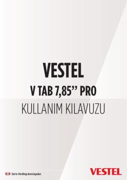 KULLANIM KILAVUZU - Vestel Driver Web Sitesi