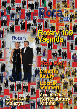 Mart Rotalife Dergi - Rotary 2440. Bölge