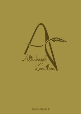 onlıne katalog - ALTIN BAŞAK KONUTLARI | Konutta Altın Çağı