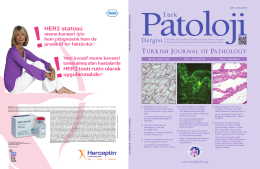 Türk Patoloji Dergisi/Turkish Journal of Pathology