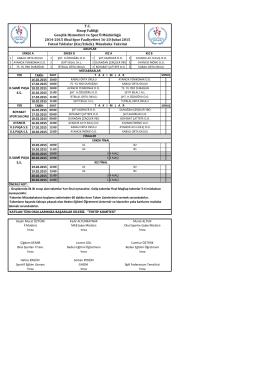 FUTSAL YILDIZLAR(YENİ) pdf - Sinop Gençlik Hizmetleri ve