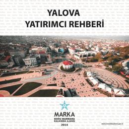 2014 Yalova Tanıtım Kitapçığı Türkçe