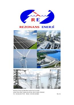 Rezonans Enerji İnş.Elekt.Met.Yazılım San.Tic.Ltd.Şti Sultan Orhan