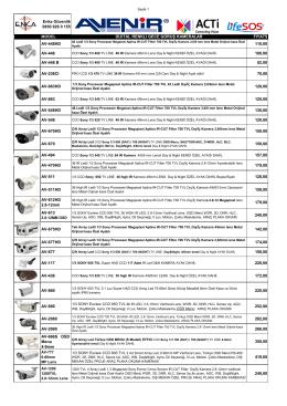 Fiyat Listemizi İndirin - Enka Güvenlik Sistemleri