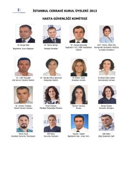 Komitelerimiz - İstanbul Cerrahi Hastanesi