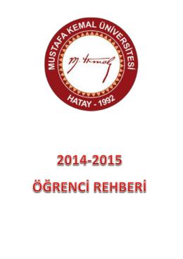 Tıklayınız - Mustafa Kemal Üniversitesi