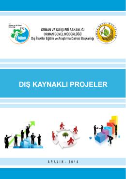 Dış Kaynaklı Projeler - Orman Genel Müdürlüğü
