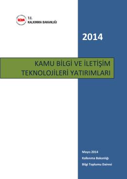 kamu bilgi ve iletişim teknolojileri yatırımları