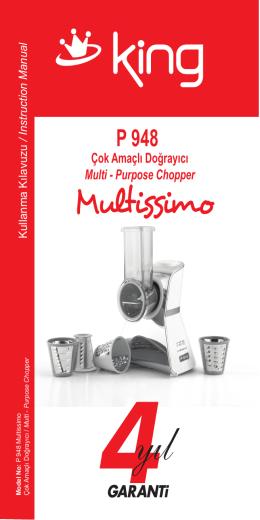P 948 Multissimo Kullanma