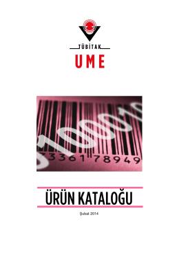 ÜRÜN KATALO⁄U - Ulusal Metroloji Enstitüsü