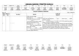 25 haziran 2014 tarihinde yapılan yönetim kurulu