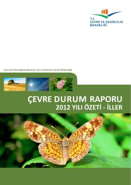 İller Özet Çevre Durum Raporu - Çevre ve Şehircilik Bakanlığı