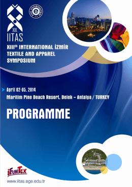 IITAS 2014 Programme