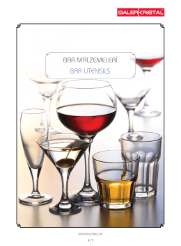 BAR MALZEMELERİ BAR UTENSILS
