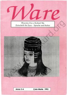Zeitschrift für Zaza