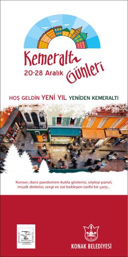 kemeraltı günleri 2014- broşür