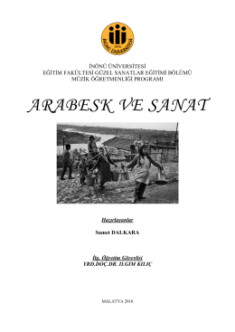 İndir (PDF, 530KB) - Orhan GENCEBAY Makale Arşivi