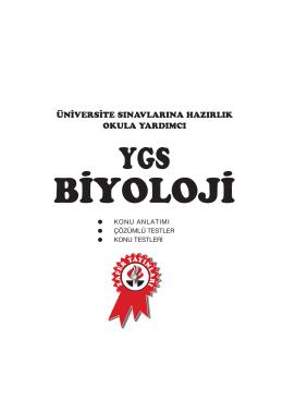 YGS BIO K.A - Zafer Yayınları