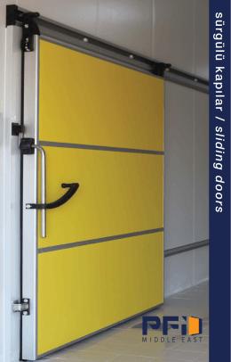 sürgülü kapılar / sliding doors