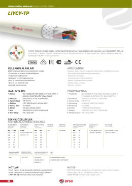 lıycy-tp - Erse Kablo