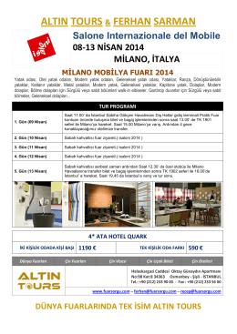 I Saloni Milano 2014