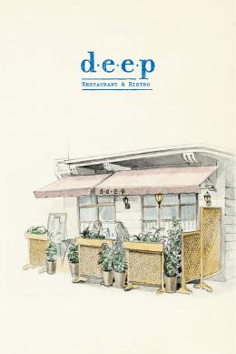 Deep Restaurant Menü