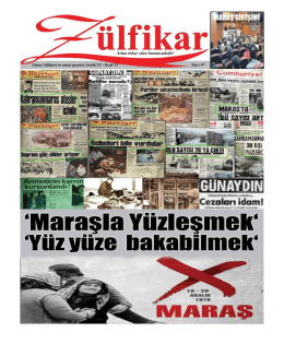 zülfikar - Alevi Gazetesi
