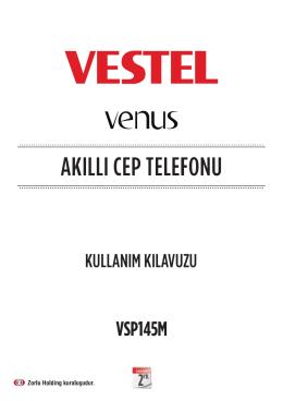 AKILLI CEP TELEFONU - Vestel Driver Web Sitesi