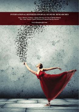 müzik 01 - Uluslararası Hakemli Müzik Araştırmaları Dergisi (UHMAD)