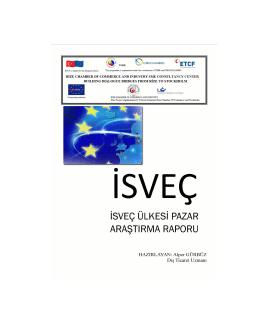 isveç pazar araştırması - Rize Ticaret ve Sanayi Odası