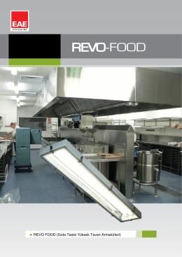 REVO FOOD (Gıda Tesisi Yüksek Tavan Armatürleri)