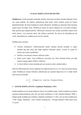 Genlik Modülasyonu (pdf)