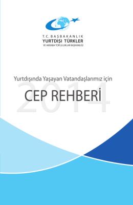 2014 Yılı Cep Rehberi - Yurtdışı Türkler ve Akraba Topluluklar