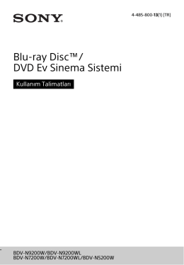 BDV-N5200W - Sony Europe