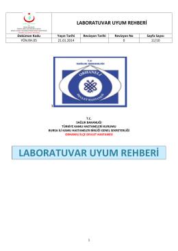 yön.rh.05 laboratuvar uyum rehberi