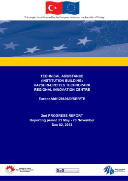 Second Progress Report