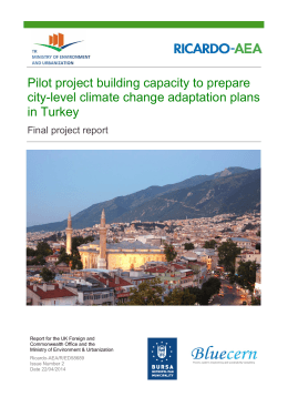 Pilot project building capacity to prepare city