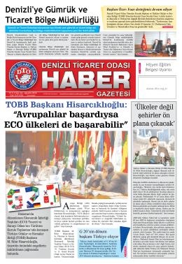 Gazete 64 - Denizli Ticaret Odası
