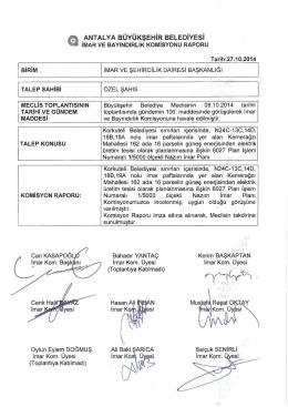 Gündemin 26.Maddesi - Antalya Belediyesi