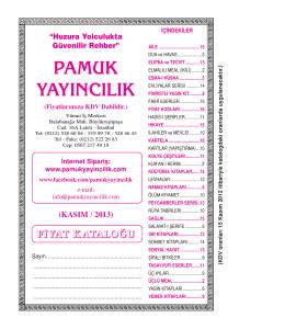 Pam Kasim2013 Fiyat lis
