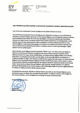 30.06.2014 Faaliyet Raporu