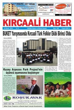 Sayı 228/2014 - Kırcaali Haber