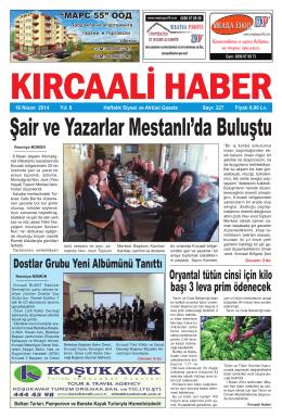 Sayı 227/2014 - Kırcaali Haber