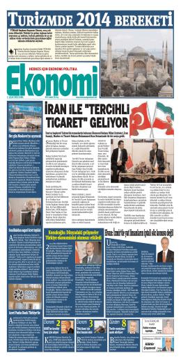 2 OCAK 2015 - Ekonomi Gazetesi