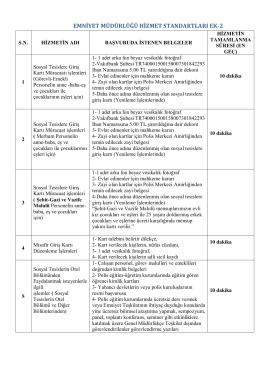 Polisevi Şube Müdürlüğü - Adana Emniyet Müdürlüğü