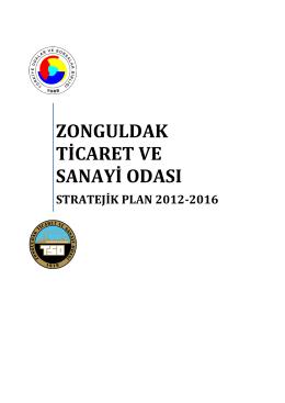 Stratejik Plan - Zonguldak Ticaret ve Sanayi Odası
