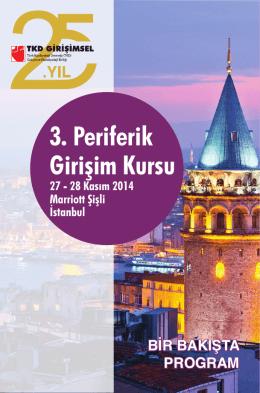 3. Periferik Girişim Kursu - Türk Kardiyoloji Derneği